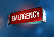 Accident and Emergency Sign